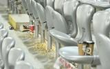 Kazahstānas mediji pārmet faniem cūcības tribīnēs spēlē ar Latviju
