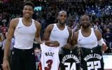 Video: NBA jocīgākajos momentos arī svešu kreklu demonstrēšana