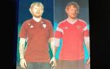 Šīrans Latvijas kreklu nomaina pret Krievijas