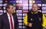 Video: Znaroks neapmierināts ar KHL reportiera jautājumiem
