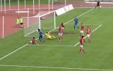 """Video: RFS vārtsargs uzdāvina vārtus, Jagodinskis neļauj """"Spartakam"""" triumfēt"""