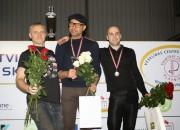 Pāvulāns un Mackeviča atkārtoti triumfē Latvijas skvoša čempionātā