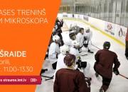"""Rīt tiešraidē Latvijas hokeja izlases treniņš """"zem mikroskopa"""""""