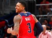 """""""Wizards"""" izmanto Atlantas kļūdas, """"Warriors"""" pārliecinoši apspēlē Memfisu"""