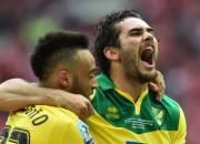 """""""Norwich"""" uzvar pārspēlēs un atgriežas Premjerlīgā"""