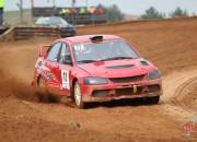 """""""Vorobjovs Racing"""" komanda autokrosā debitē ar uzvaru"""