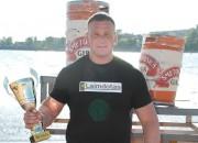 Šleckus izcīna 3.vietu Lietuvas Spēkavīru čempionāta otrajā posmā