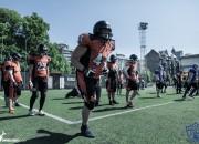 Divas Latvijas amerikāņu futbola komandas piedalās starptautiskā nometnē
