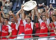 """Arsenal"" iegūst ""Community Shield"", Čehs debijā sausā pret ""Chelsea"""