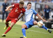 """""""Bayern"""" nokļūst mazākumā, tomēr spēj izraut uzvaru"""