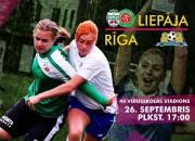 Sestdien Rīgā notiks Latvijas sieviešu futbola kausa fināls
