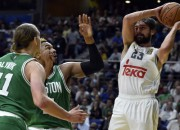 """Celtics"" pārspēj Madrides ""Real"", M.Gazolam 23 punkti pret Haifu"