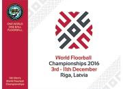 Prezentēts 2016.gada pasaules čempionāta florbolā logo