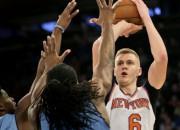 """Porziņģim 23 metieni un 21 punkts, """"Knicks"""" turpina zaudēt"""