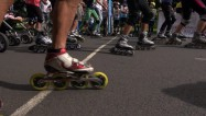 Video: Rīgas svētku laikā titulus izcīnija arī skrituļotāji un BMX braucēji