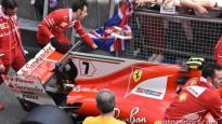 """""""Spiegi"""" Barselonas trasē piefiksē F1 mašīnu uzlabojumus"""