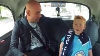 """""""Manchester City"""" līdzjutējs negaidīti satiek Gvardiolu"""