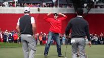 Golfa līdzjutējs izaicina profesionāļus un laimē 100 $
