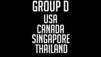 PČ florbola D grupas prezentācija: Ziemeļamerikas un Āzijas cīņa par astotdaļfinālu