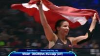 Grigorjevas triumfs pasaules čempionātā un apbalvošana