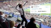 """PK fināla """"Twitter"""" čalas: prezidenta Makrona un visas Francijas lielie prieki"""
