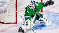 """KHL """"play-off"""" pirmās kārtas atvairījumu topā triumfē Metsola"""