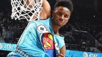 NBA zvaigžņu nedēļas topā uzvar Diallo ar danku pāri Šakam