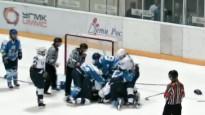 Hokeja dāmas izplūcas Sverdlovskas apgabalā