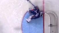 Kuriozs vārtu guvums KHL mačā