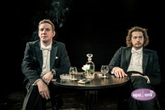 Video: Artūrs Skrastiņš un Kārlis Lācis KONCERTĀ, KURA NEBIJA Dailes teātrī