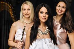 Elīna Šimkus un Trio Angelicus Dzintaru koncertzāles Ziemassvētku festivālā