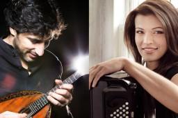 """""""Jūrmalas festivālā"""" ar solokoncertu uzstāsies virtuozā akordeoniste Ksenija Sidorova un pasaulslavenais mandolīnas virtuozs Avi Avitāls"""
