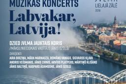 """Jāzepa Vītola Latvijas Mūzikas akadēmijas jauktā kora koncerts """"Labvakar, Latvija!"""""""