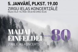 Maijas Einfeldes 80. jubilejas koncertā muzicēs Latvijas spožākie kamermūziķi