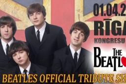 """Vienīgais """"The BeatLove"""" koncerts Baltijā"""