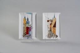 Ludmilas Nazinas un Sergeja Rusakova lekcija un meistarklase Rīgas Porcelāna muzejā