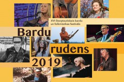"Notiks bardu un folkmūzikas festivāls ""Bardu rudens 2019"""