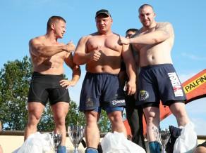 Jau šo sestdien Latvijas spēkavīru čempionāta superfināls Ventspilī