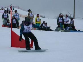 Vītola ieņem 48.vietu PK sacensībās paralēlajā milzu slalomā