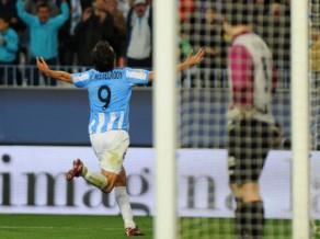 """Van Nistelrojam vārti, """"Malaga"""" paceļas uz trešo vietu"""