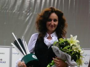 Vasiļjeva – Eiropas čempione snūkerā, Prisjažņukai bronza