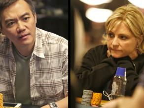 Pokera Slavas zāles kandidāti - Dženifera Harmena un Džons Džuanda