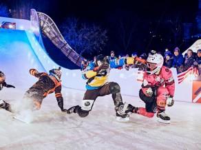 ''Crashed Ice'' Sentpolas posmā uzvar Moriartijs