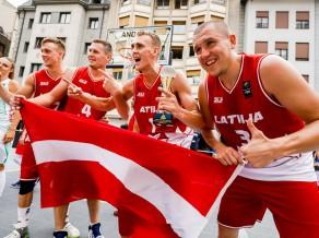 Latvijas 3x3 izlases basketbolisti piektdien startēs Eiropas kausa finālturnīrā