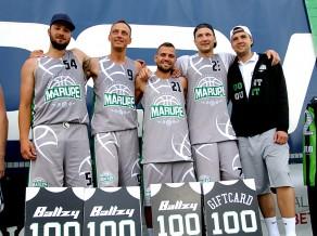 """BK """"Mārupe"""" 3x3 basketbolisti uzvar Igaunijas čempionāta posmā Otepē"""