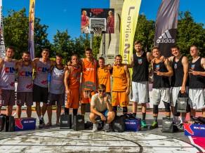 """""""Ghetto Basket"""" – Latvijas čempionāts – Cēsu svētku epicentrā"""