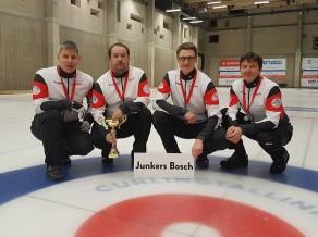 """Junkers Bosch/Smilga uzsāk starptautisko kērlinga turnīru sezonu, ar tiešraidēm no """"Baden Masters"""""""