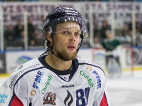 """Jekimovam """"hat-trick"""" Dānijā, Merzļikins atvaira 21 zaudējumā"""