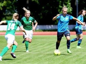 Rīgas Futbola skola Čempionu līgā startē ar minimālu zaudējumu
