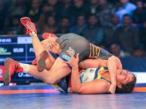"""Grigorjeva grauj, Indijas čempionvienība tiek """"Pro Wrestling"""" finālā"""